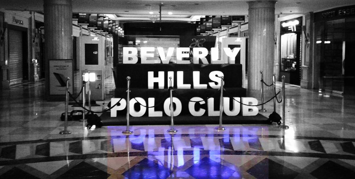 BEVERLY HILLS POLO CLUB | Brand Installation