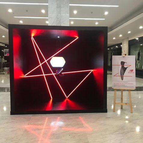 NEW BALANCE | Laser Shoe Installation