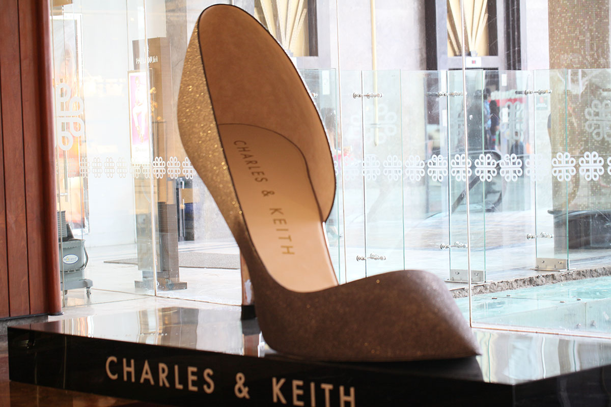 CHARLES & KEITH | Shoe Installation